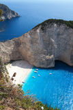 Navagio Beach, Zakynthos, Greece Royalty Free Stock Photos