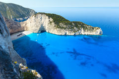 Navagio beach (Zakynthos, Greece) Royalty Free Stock Images