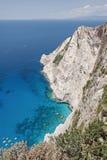 Navagio Beach in Zakynthos Island Greece Royalty Free Stock Photo
