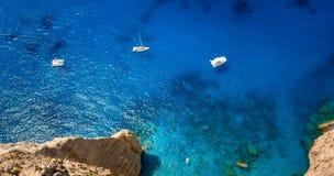 Navagio Shipwreck Zakynthos stock photography