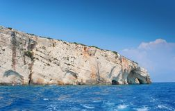 Navagio, Zakinthos rock cave Royalty Free Stock Photography