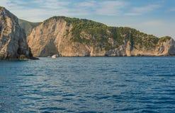 Navagio Zakynthos Ionian wyspy Fotografia Stock