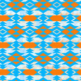 Navajo aztec textile inspiration pattern. Native american indian. Tribal  hand drawn art Royalty Free Stock Images