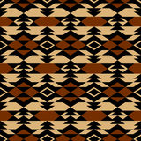 Navajo aztec textile inspiration pattern. Native american indian. Tribal  hand drawn art Stock Photos