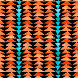 Navajo aztec textile inspiration seamless pattern. Native americ Stock Photo