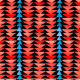Navajo aztec textile inspiration seamless pattern. Native americ Stock Photography