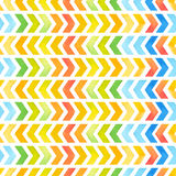 Navajo aztec textile inspiration watercolor pattern. Native amer Stock Photos