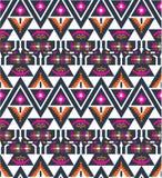 Navajo bezszwowy kolorowy plemienny wzór Obrazy Stock