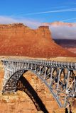 Navajo-Brücke lizenzfreie stockbilder