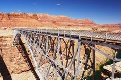 Navajo-Brücke, Arizona Lizenzfreies Stockbild