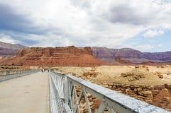 Navajo-Brücke, Marmorschlucht Hwy 89 Stockfoto