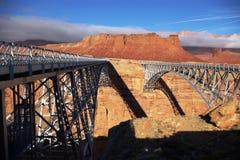 Navajo-Brücken stockfotos