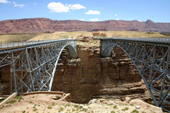 Navajo-Brücken Stockbild