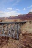 Navajo Bridge. In Marble Canyon Arizona royalty free stock photo