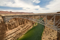 Navajo Bridge. Over the Colorado River near Page, Arizona USA Royalty Free Stock Image