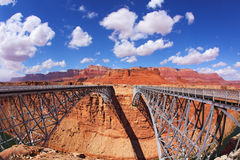 The Navajo Bridge Stock Photos