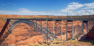 Navajo Bridge. Over the Colorado River near Page, Arizona USA Stock Image