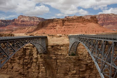 Navajo Bridge Arizona Royalty Free Stock Photography