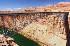 Navajo Bridge, Arizona. Navajo Bridge over the Colorado River, Arizona Royalty Free Stock Images