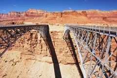 Navajo Bridge, Arizona Royalty Free Stock Images