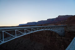 The Navajo Bridge in Arizona USA. 1 Stock Photography