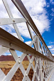 Navajo Bridge Details. Closeup view of details of Navajo Bridge in Arizona Stock Photography
