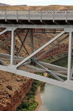 Navajo Bridge Marble Canyon Arizona. Navajo Bridge in Marble Canyon Arizona Royalty Free Stock Photo