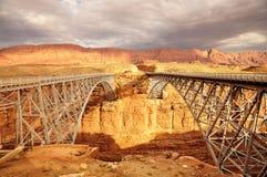 Navajo Bridge Marble Canyon Royalty Free Stock Photo