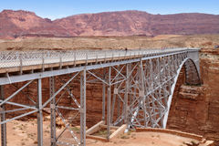 Navajo Bridge near Page, Arizona Stock Image