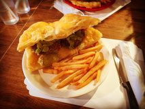 Navajo burger royalty free stock photography