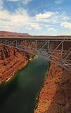 Navajo de passerelle Photo libre de droits
