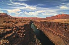 Navajo de passerelle Photos libres de droits