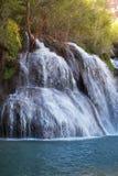 Navajo Falls. Pours into a small lake Royalty Free Stock Photos