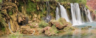 Free Navajo Falls Travertine Formations Stock Photos - 84631243