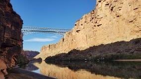 Navajo fishing. royalty free stock images