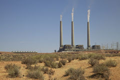 Navajo Generating Station Royalty Free Stock Image
