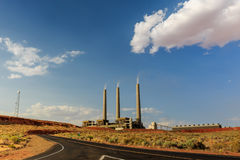 Navajo Generating Station Stock Image