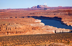 Navajo Generating Station Lake Powell Glen Canyon Stock Images