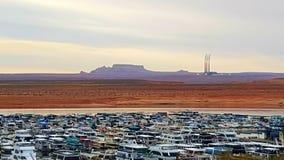 Navajo Generating Station. Lake Powell, Arizona, USA royalty free stock image