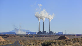 Navajo Generating Station in Page Royalty Free Stock Image