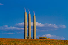 Navajo Generating Station Royalty Free Stock Photos