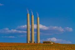 Navajo Generating Station Royalty Free Stock Photos