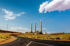 Navajo Generating Station Stock Photo