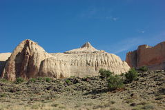 Navajo-Haube im Kapitol-Riff lizenzfreies stockfoto