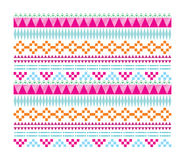 Navajo Hipster Pattern. A pattern of geometric navajo Stock Photography