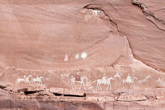 Navajo Indian Paintings Stock Photos