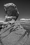 Navajo Knobs. A cliff a the top of the Navajo Knobs mountain Royalty Free Stock Photo