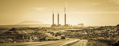 Navajo-Kraftwerk Lizenzfreies Stockbild