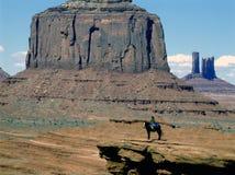 Navajo-Mädchen Stockfoto