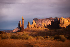 Navajo Monument Valley canyon in USA stock images